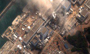 Fukushima Dai Ichi Power Plant after the explosions