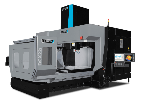 Hurco DCX22i-40T Double Column Machining Center