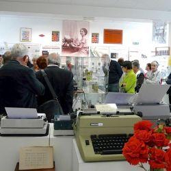 Visiteurs de l'exposition Japy en juin 2013