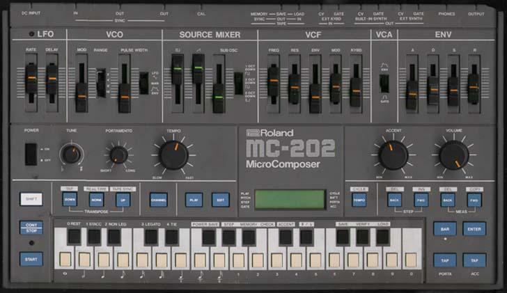 Music Machines Roland Mc 202