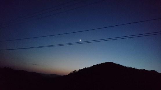 宝坂からの夜景(東舘・女性)
