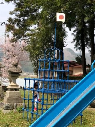 石井の神社のところにて(東舘・女性)
