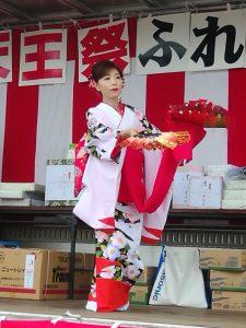 日本舞踊披露(内川・男性)