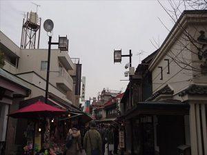帝釈天門前参道商店街