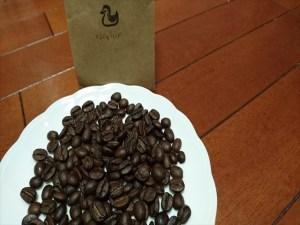 カルガモコーヒーの豆