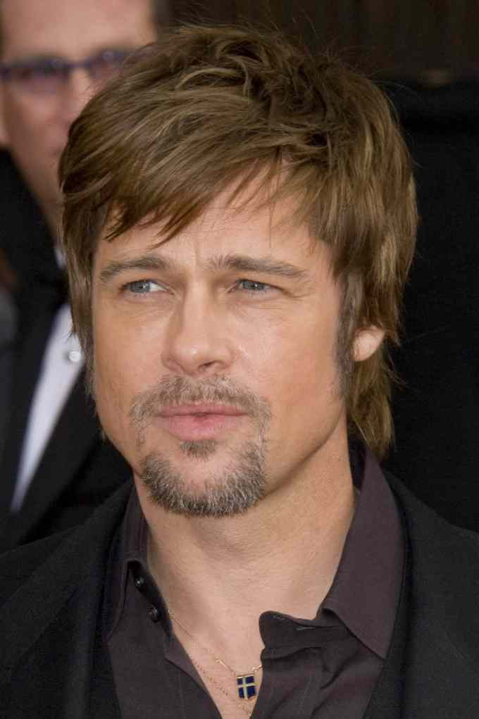 60 charming brad pitt hairstyles - styling ideas (2019)
