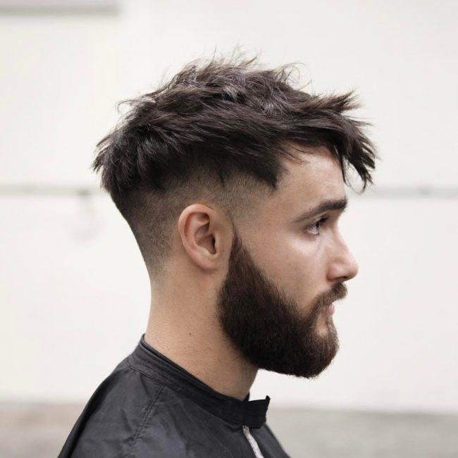 Guys Haircuts 151311 Short Sides Long Top Hair Men