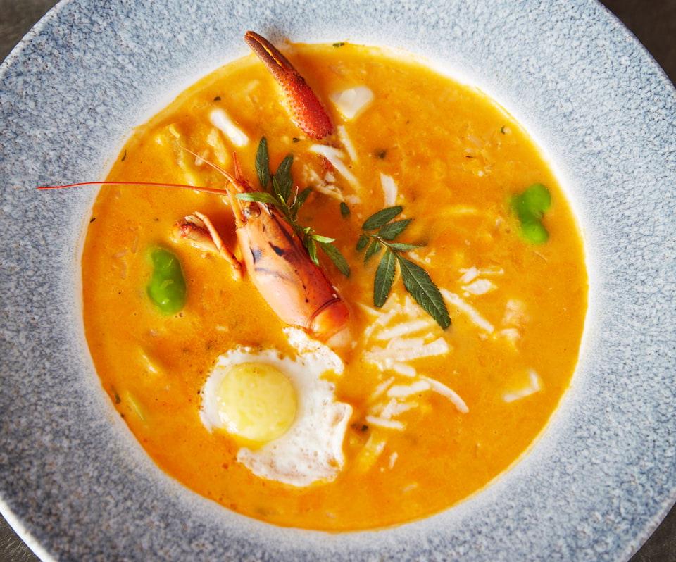 Gastronomia Curiña, no Belmond Las Casitas