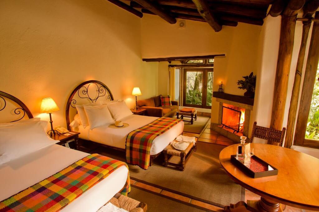 Suíte Junior Deluxe, no Inkaterra Machu Picchu Pueblo Hotel