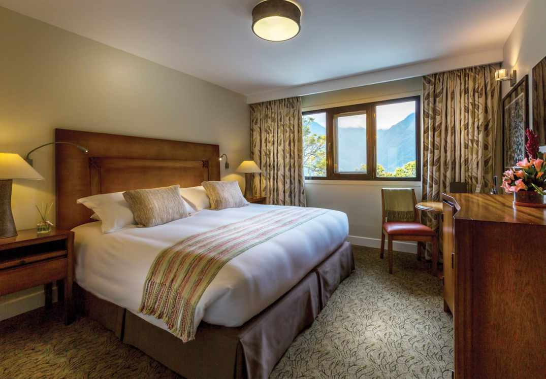 Quarto Deluxe, no Hotel de Luxo Belmond Sanctuary Lodge, em Machu Picchu