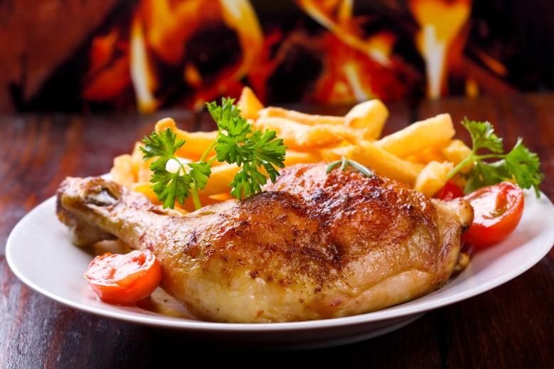 comidas típicas do peru: pollo a la brasa