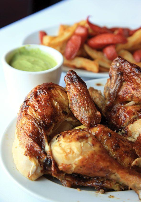 Pollo a la Brasa Peruvian Rotisserie Chicken