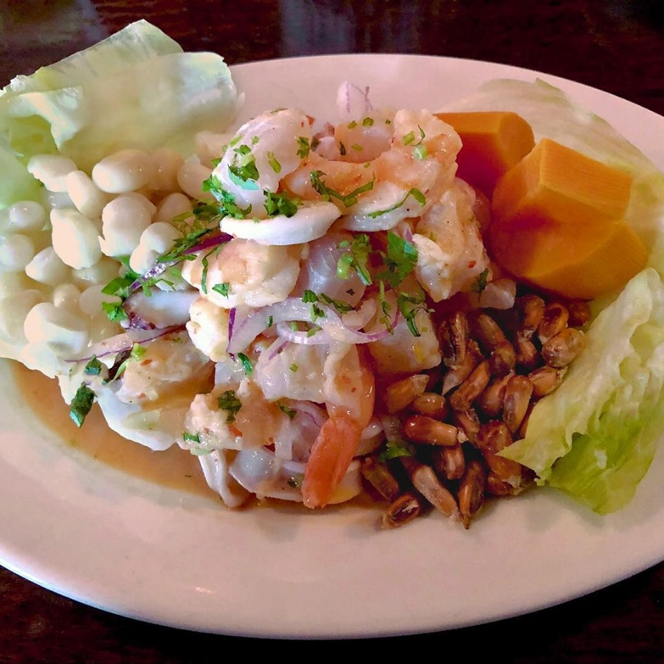 seafood ceviche lime