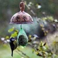 Futterplatz für Vögel Keramik Meisenknödelhalter