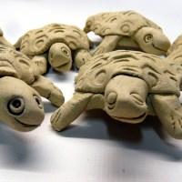 Bastelspaß mit Kindern: Schildkröten-Mobile
