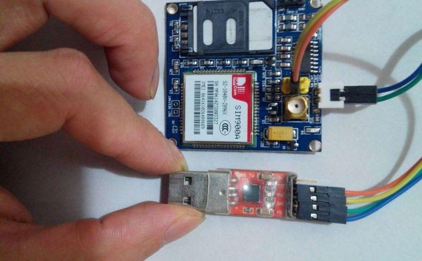 SIM900A a europejskie karty GSM.