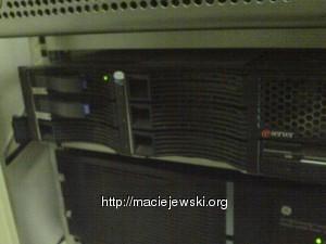 Serwer z dwoma dyskami 70 GB