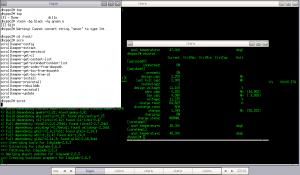Fluxbox 1024x600 NetBSD/Aspire One