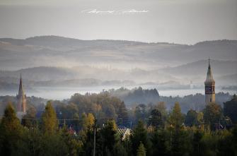 Poranek w Miłkowie 05.10.2018. Fot. Maciej Załuski