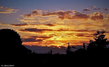 Zachód Słońca w Szymanowie 19.06.2016