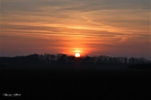 Zachód Słońca w Szymanowie spacer Fot Maciej Załuski