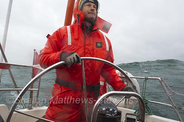 Loon Harbour to Tee Harbour, sailing, open water, Sharon Matthews-Stevens