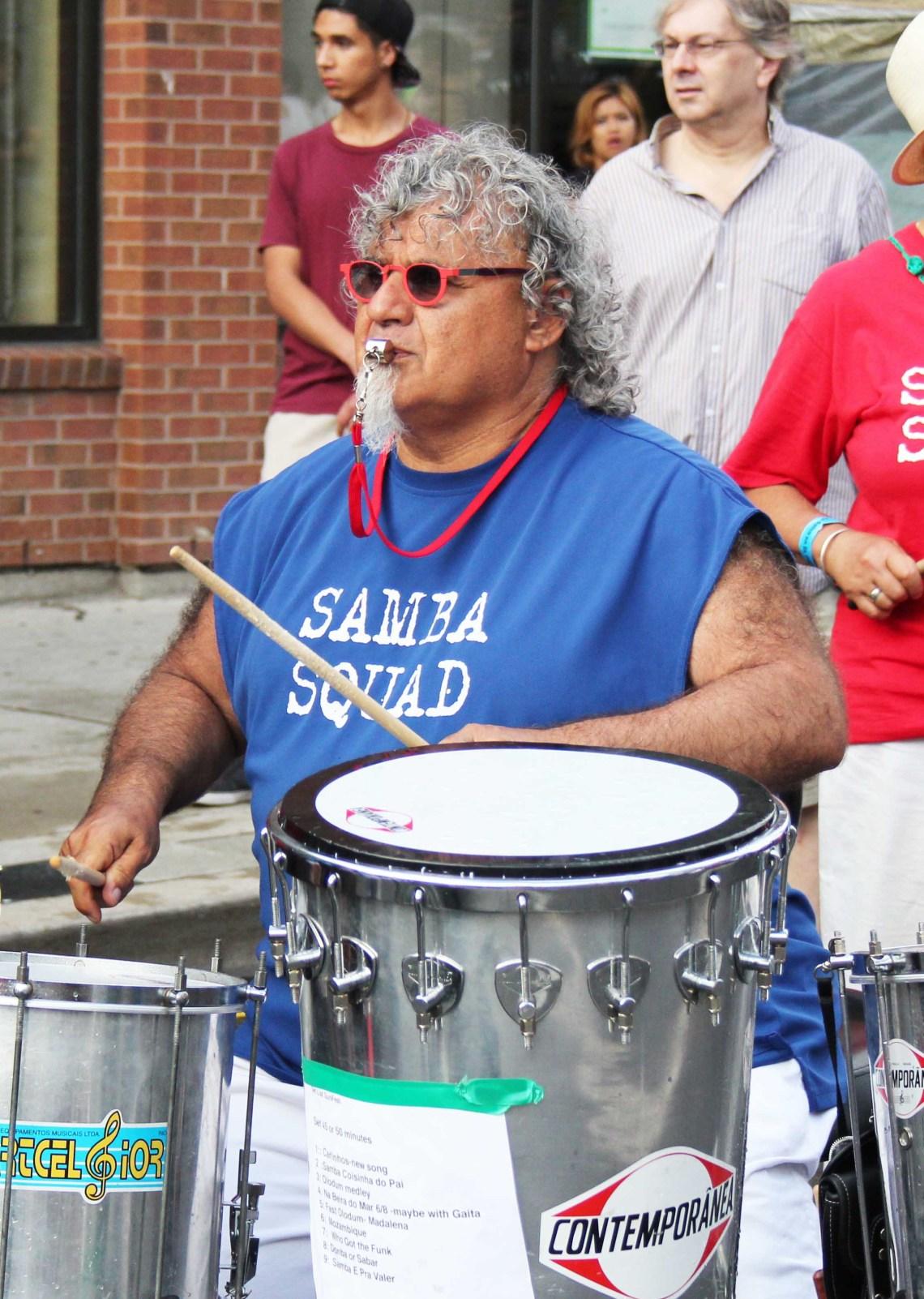 Samba Squad, Salsa, Street Festival