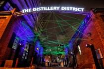 Distillery District, Toronto, Light Fest, Light, #ToLightFest, 2017