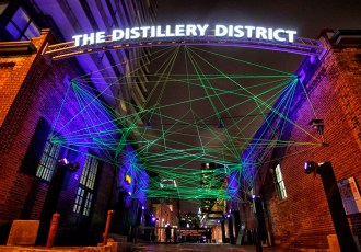 Distillery District, Toronto, Light Fest, Light, #ToLightFest, 2017