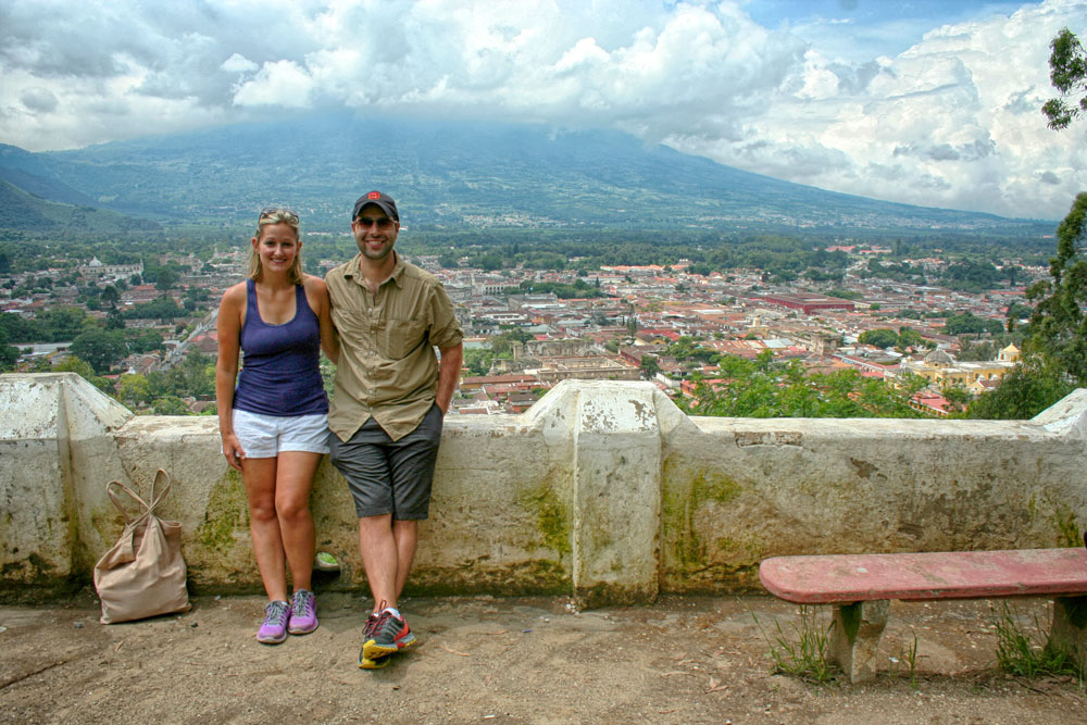 Cerro de la Cruz, Outlook, Antigua, Guatemala