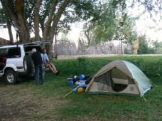 1st nights camp Lake Malawi
