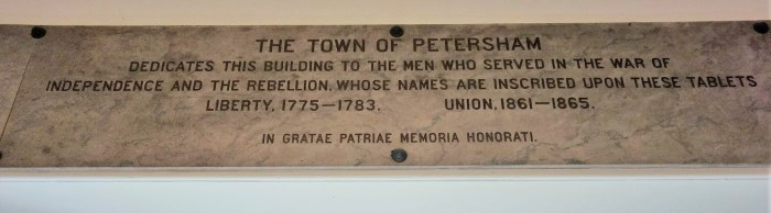 Petersham 1