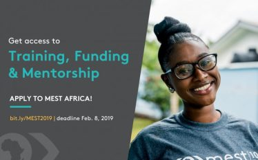 Applications Open: 2019 MEST Entrepreneurial Training Program.