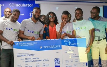 Fintech: Nvoicia Adjudged Best Startup At Seedstars Accra Event.