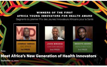 Meet Africa's New Generation of Health Innovators.