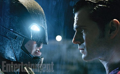 Batman and Superman square off for the first time