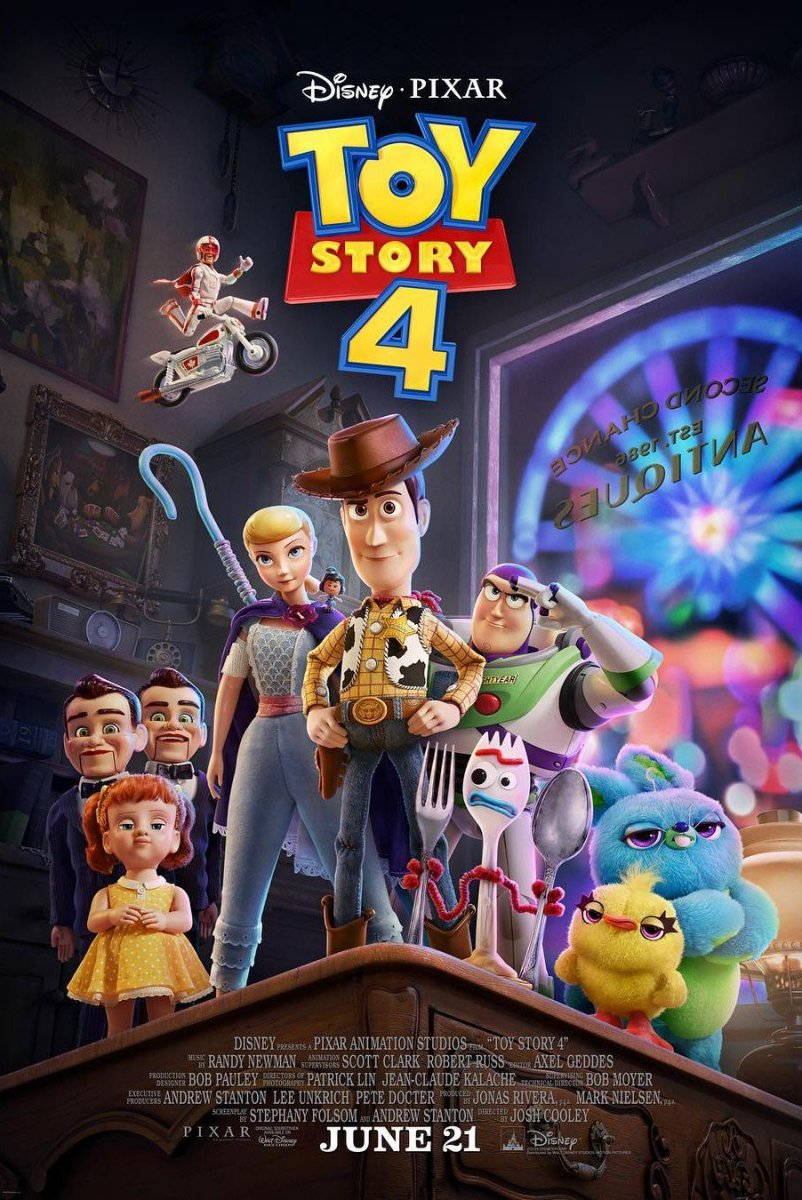 Toy Story 4 (2019) - Official Trailer