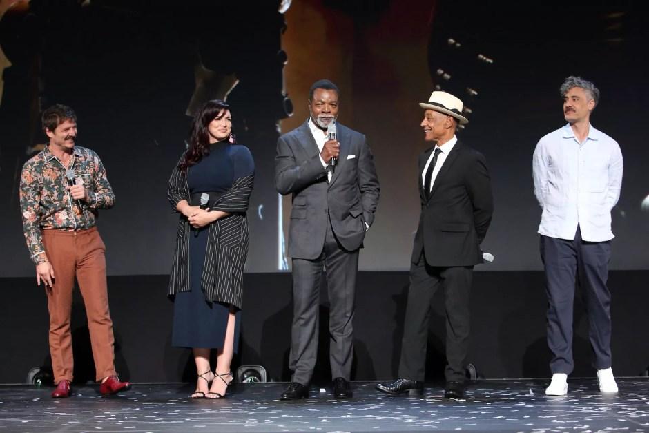 cast for The Mandalorian (2019-)