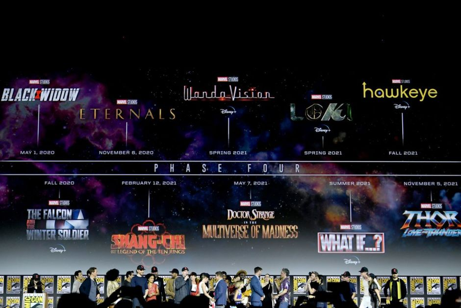 Marvel Film and TV plan