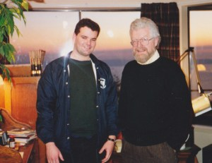 My first meeting with Roy at his studio in North Vancouver BC in 1991.