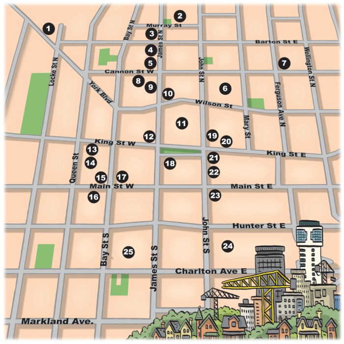 Downtown Development Map 2013