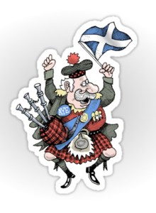 Angus MacScotland sticker