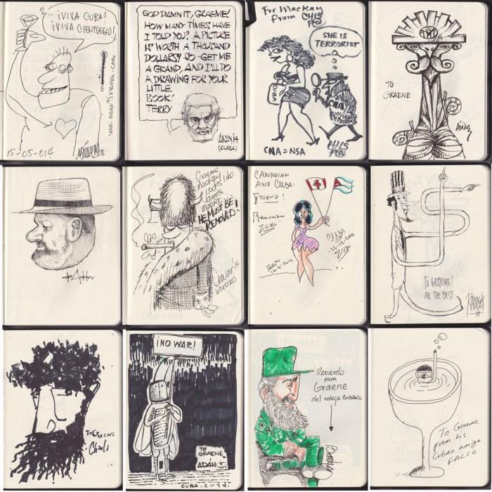 Graeme MacKay's guest sketch book