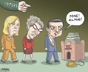 Election Draft Cartoon