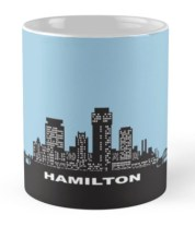 City of Hamilton coffee cup