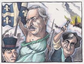 Parizeau leading the People   by Graeme MacKay