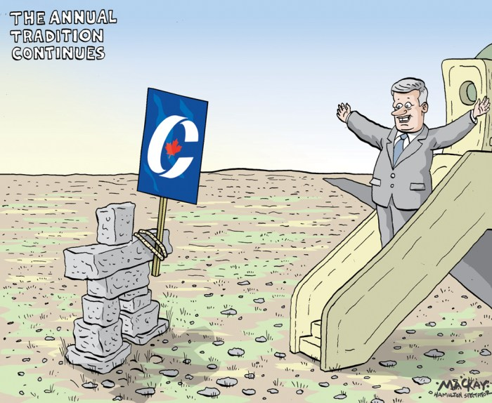 By Graeme MacKay, The Hamilton Spectator - Tuesday August 11, 2015 Harper heads north on campaign tour as Duffy trial resumes  Stephen Harper is heading to Northern Canada in the days after his former chief of staff Nigel Wright begins testifying at the Mike Duffy trial, a campaign itinerary that will take the Conservative Leader far from the story as it begins unfolding in an Ottawa courtroom. Mr. HarperÕs chartered election plane is expected to fly to the Northwest Territories Thursday and Nunavut on Friday before heading south again. ÔIÕm not denying thatÕ: Six key exchanges from the first leadersÕ debate   Video Video: Why Nigel WrightÕs testimony could mean trouble for HarperÕs election campaign The Conservative Leader has made a habit of touring the North for about one week each summer as part of an effort to cement a legacy in the region Ð from defending sovereignty to promoting development Ð and he cancelled this yearÕs trip in favour of an early election call. His campaign stumping in the territories by comparison will be brief. Campaign spokesman Kory Teneycke declined to discuss Mr. HarperÕs itinerary this week, saying the Tories will Òprobably spend a couple of daysÓ in Northern Canada along the way. He dismissed the notion the Harper campaign is setting its travel itinerary by the Duffy case. ÒThe trialÕs going to be going on for three weeks during the middle of the campaign. WeÕre going to go to every corner of the country while the trial is on. And everywhere we go, weÕre going to have a bus or plane full of media and [weÕll be] taking questions from them,Ó Mr. Teneycke said. (Source: CBC News) http://www.theglobeandmail.com/news/politics/harper-heads-north-on-campaign-tour-as-duffy-trial-resumes/article25920402/ Stephen Harper, Arctic, election 2015, polar, campaign, mike duffy, security