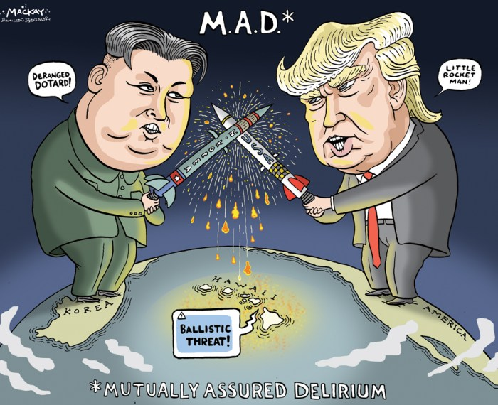Rocket man – mackaycartoons