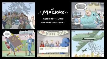 Apr. 5 to 11, 2019