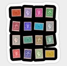 Stamps Sticker